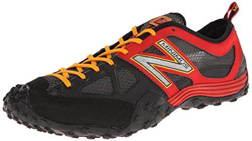 New Balance Men's Mx007 Minimus Training Shoe,Black/Red,8.5 D US