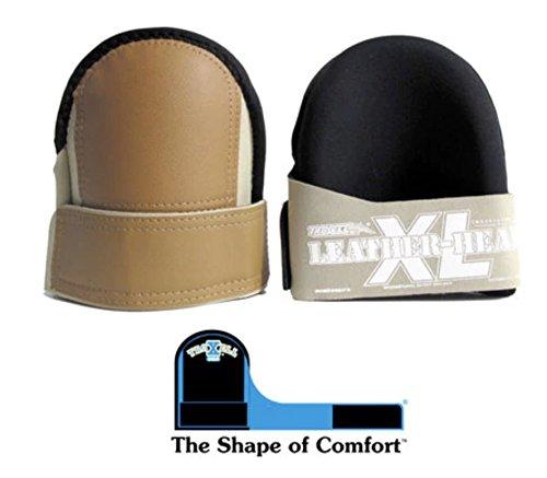 TROXELL USA Supersoft Leatherhead XL Kneepads (Premium)