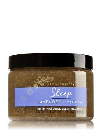 Bath and Body Works Aromatherapy Lavender Vanilla Sugar Scrub 13 Oz ()
