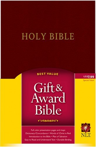 NLT Gift and Award (Gift and Award Bible: New Living Translation-2) by Tyndale House Publishers (Creator) (1-Dec-2004) Imitation Leather