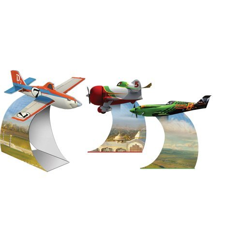 [Disney Planes Tabletop Decorations Birthday Party Costume Supplies 3 per pack by SmileMakers] (El Chupacabra Planes Costume)
