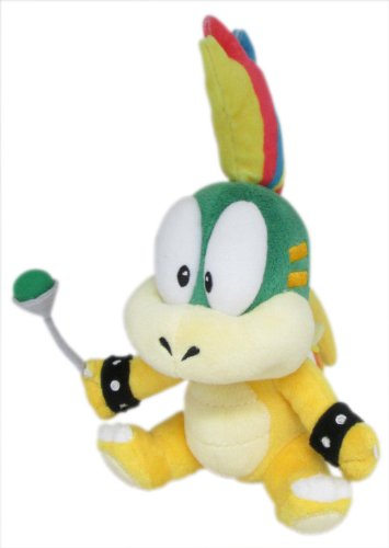 Sanei Super Mario Plush Series Lemmy Koopa/Remi Plush Doll, 8