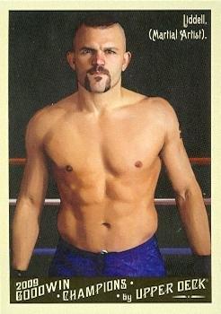 Chuck Liddell trading card (MMA) 2011 Upper Deck - Chuck Liddell Card