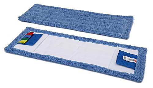 Nextstep Commercial Products Pack of 12 16 OCedar Commercial 96961 MaxiPlus Microfiber Pocket Mopping Pad 16 Pack of 12