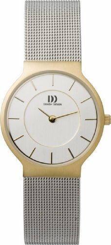 Danish Designs Women's IV65Q732 Stainless Steel Gold Ion Plated Watch