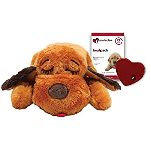 Smart Pet Love Snuggle Puppy Behavioral Aid Toy, Brown Mutt