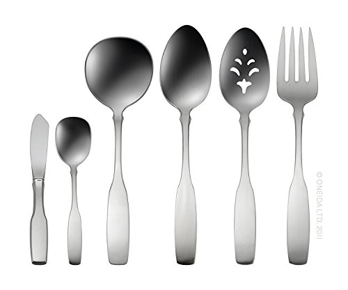 - Oneida 2640006B Paul Revere 6-Piece Serving Set Medium Stainless