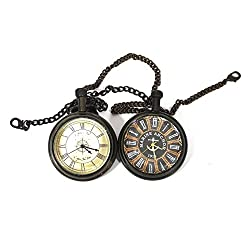 Collectibles Buy Royal Vintage Chain Clock Combo For him/her Maritime 1912 Replica Model Collectibles Gift Items , Round Combo