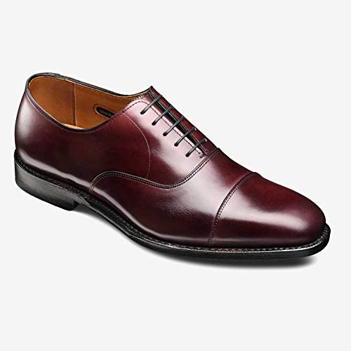Allen Edmonds Men's Exchange Place Cap Toe Dress Shoe 9 D(M) Men 5017 Oxblood