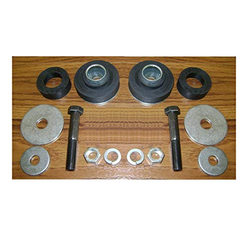(Subframe Radiator Core Support Bushing Kit w/Hardware Bushings Repair Kit for Chevrolet Pontiac Quick)