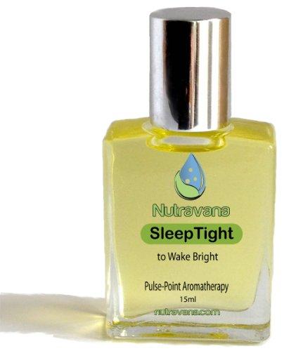 «Sleep Tight 'Roll On - Remède naturel Sleep Aid pour enfants et adultes à mieux dormir sans pilules - Phytothérapie - Sommeil profond Remède pour créer des saines habitudes de sommeil - Mélanges meilleures huiles essentielles de lavande, camomille, nérol