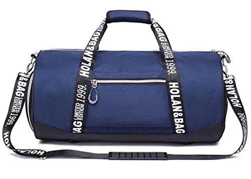 Aidonger Sports Duffel Bag Gym Bag Carry On Bag with Shoe Po