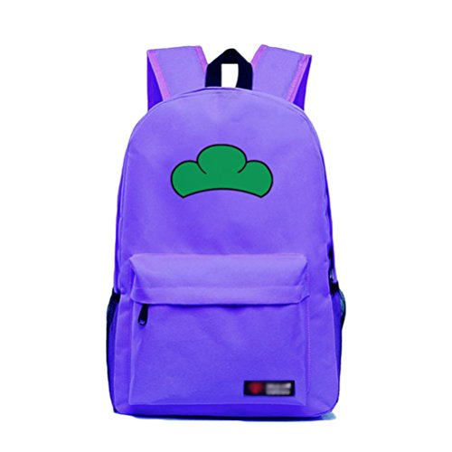 - Rain's Pan Anime Mr.Osomatsu San Cosplay Backpack Knapsack Double Shoulder Bag (ichimatsu,purple)