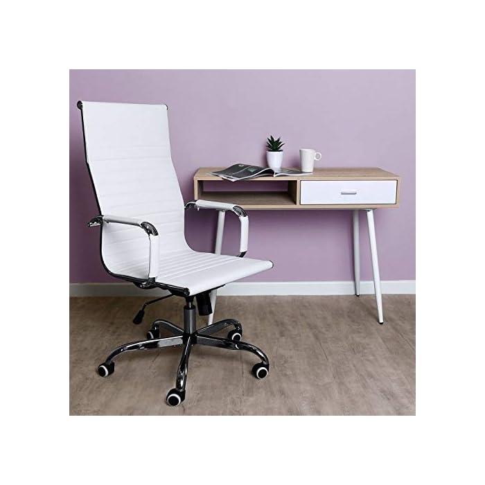 41gMbCq%2BpwL Material asiento: Polipiel Relleno asiento: Espuma Material estructura: Acero reforzado