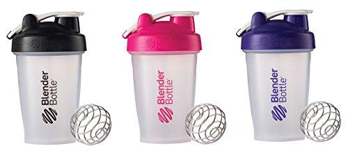 black pink blender bottle - 4