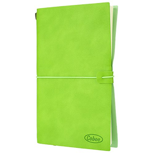 Leather Notebook Refillable Personalized Travelers