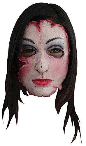 [Morris Costumes Halloween Party Cosplay Serial killer 16 Latex Face Mask] (Devil Masks For Sale)