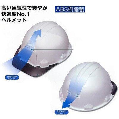 安全サイン8 爽やか 快適度NO,1 高い通気性 墜落時保護(スチロール入り)ヘルメット レジャー防災工事用 5個セット FP-1F5 カラー:白 B075SQGDZS