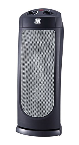 OceanAire HPQ15G-M Warmwave Oscillating Tower Ceramic Heater (Electric Heater, Space Heater, Portable Heater) Ceramic Heaters Sienhua Group (N.A.) Inc