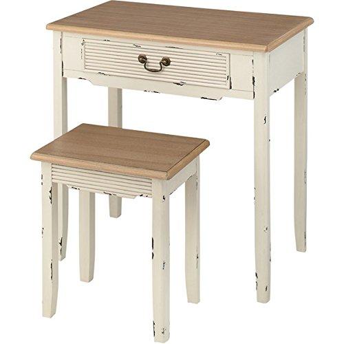 Blossom(ブロッサム) デスク&スツール COL-028 生活用品 インテリア 雑貨 インテリア 家具 椅子 その他の椅子 14067381 [並行輸入品] B07L7N9MKN