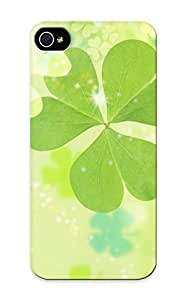 For Iphone 5/5s Fashion Design Clover Case-meUxXcp1356PIRRG / Cover Specially Made For Thanksgiving Day's Gift