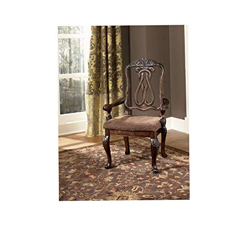 Wood & Style Furniture North Shore Dining Chairs, Dark Brown Home Office Commerial Heavy Duty Strong Décor