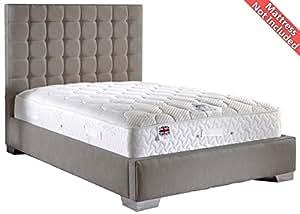 ValuFurniture Coppella cheniiie marco de Tela diván cama - plateado - - individual 60,96 cm 6 66 tamaño pequeño