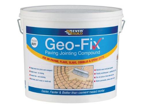 Everbuild GEOFIX20B Geo Fix Paving Mortar 20Kg   Buff: Amazon.co.uk: DIY U0026  Tools