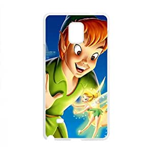 Happy Peter pan Case Cover For samsung galaxy Note4 Case