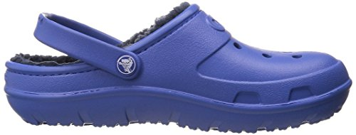 crocs Unisex-Kinder Hilo Lined Clo Clogs Sea Blue/Navy