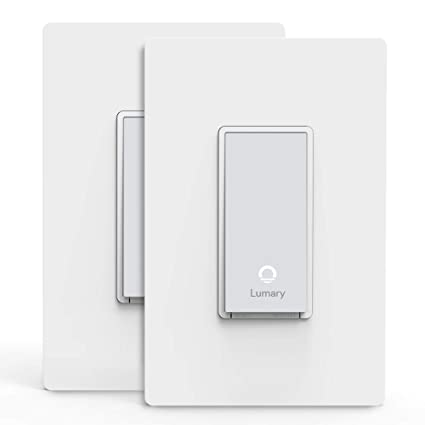 lumary l s300 3 way smart light switch with wifi and voice control