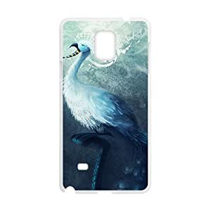 Beautiful Bird White Phone Case for Diy For SamSung Note 3 Case Cover