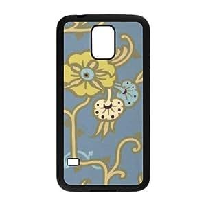 Samsung Galaxy S5 Cell Phone Case Black Velvet Vine Stainless LV7923177