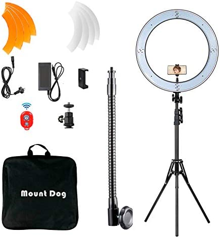 MOUNTDOG Bluetooth Ringlight Ringlights Photography product image