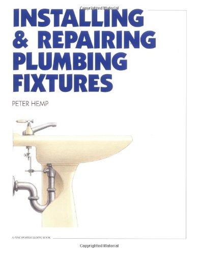 Installing & Repairing Plumbing Fixtures