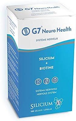 G7 NEURO HEALTH: Silicio Organico + Biotina | El Complemento ...