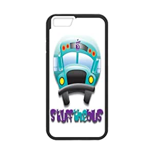 iphone 6 plusd 5.5 Case Funny Blue Stuff the Bus iphone 6 plusd 5.5 (Laser Technology)