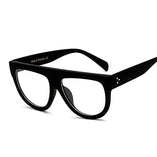 69e67c2bbe HQADIER Lentes De Doble Color Gafas De Sol Cuadradas Gran Marco Vintage  Gafas Unisex Gafas Antirradiación