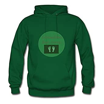 For Women Cotton Green Custom Long-sleeve Fashionable Grandma__2012a__transparent Hoody X-large