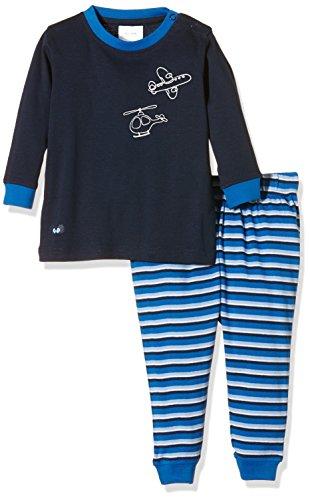 Twins Baby-Jungen Zweiteiliger Schlafanzug mit Flugzeug Druck, Blau (Hellblau 4002), 92