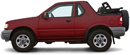 Amazon Com Autoberry Isuzu Amigo Rodeo 1998 2002 Convertible Soft Top Charcoal Window Automotive