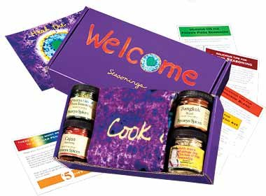Welcome Seasonings Gift Box By Penzeys Spices