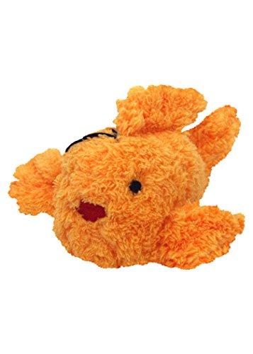 Multipet's Look Who's Talking Plush Goldfish Dog Toy, 6.5-Inch