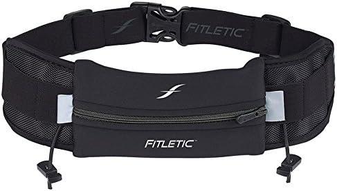 Fitletic Ultimate I Cinturón Running, Unisex, Negro, Talla Única ...