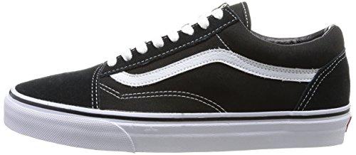 Nero U black Vans Adulto Sneaker Unisex Old Skool xRnPCqY4Pw