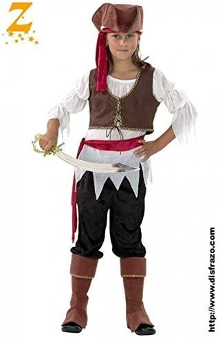 Disfraz Pirata Niña T. 7-9: Amazon.es: Ropa y accesorios