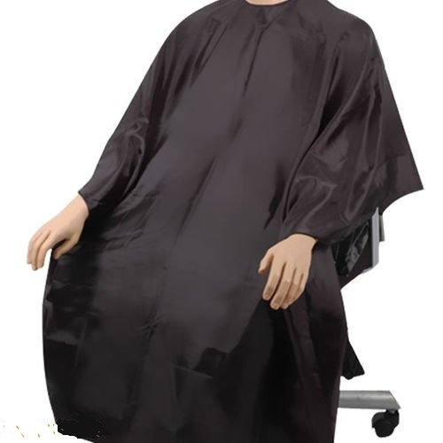 SC02 HAIR CUTTING GOWN SALON BARBERS CAPE - BLACK: Amazon.co.uk ...