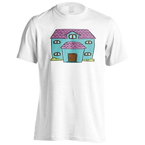Neue Schöne Vintage Hauskunst Herren T-Shirt l696m
