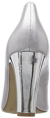 argento da Silver 22402 Caprice metallo Pumps donna 920 6gzqqYw