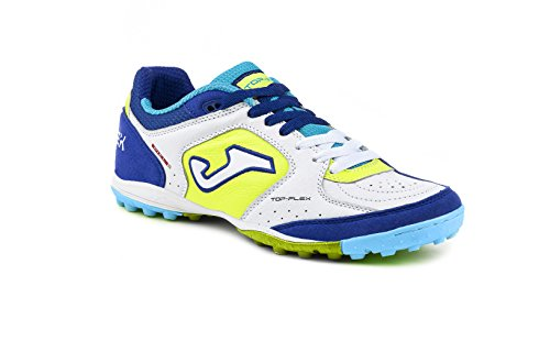 JOMA CALCETTO TOP FLEX 622 WHITE-BLUE TURF 37